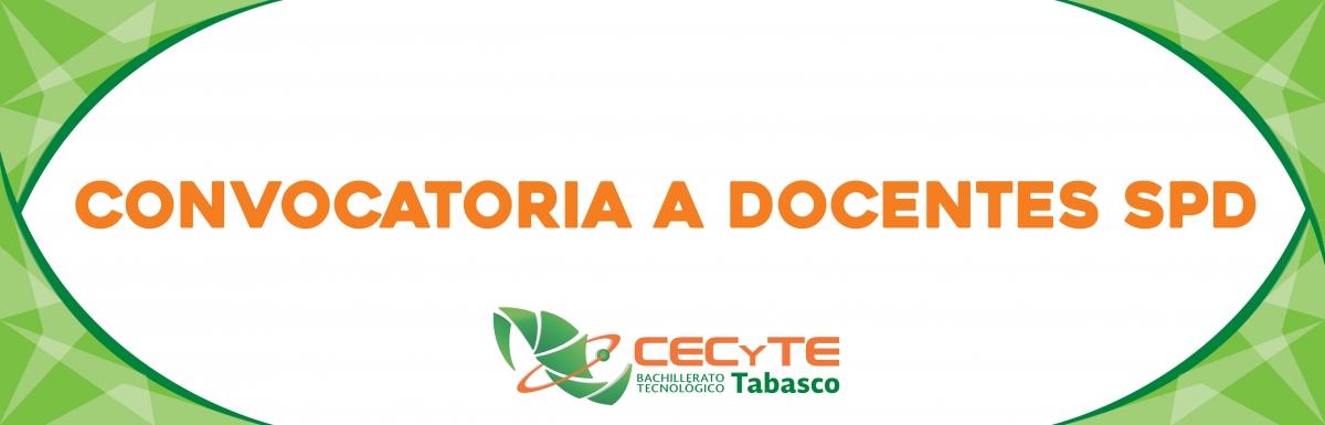 Orgullosamente cecyte tabasco for Convocatoria docente 2016